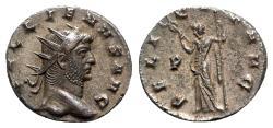 Ancient Coins - Gallienus (253-268). Antoninianus - Mediolanum - R/ Felicitas