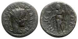 Ancient Coins - Trebonianus Gallus (251-253). Bithynia, Nicaea. Æ - R/ Demeter