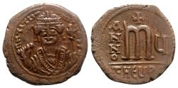 Ancient Coins - Maurice Tiberius (582-602). Æ 40 Nummi - Antioch, year 5