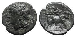 Ancient Coins - Samnium, Teanum Sidicinum, c. 265-240 BC. Æ