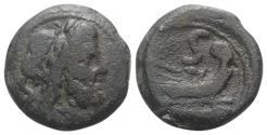 Ancient Coins - ROME REPUBLIC Anonymous, Rome, 91 BC. Æ Semis