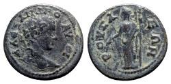 Ancient Coins - Severus Alexander (222-235). Bithynia, Prusa ad Olympum. Æ - R/ Demeter - VERY RARE