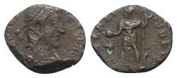 Ancient Coins - Constantius II (337-361). Æ - R/ Emperor with spear and globe