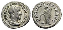 Ancient Coins - Maximinus I (235-238). AR Denarius - Rome - R/ Providentia