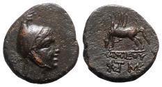 Ancient Coins - Pontos, Amisos, time of Mithradates VI Eupator, c. 85-65 BC. Æ