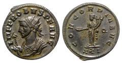 Ancient Coins - Probus (276-282). Radiate - Siscia - R/ Concordia