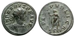 Ancient Coins - Carus (282-283). Radiate - Ticinum - R/ Spes