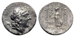Ancient Coins - Kings of Cappadocia, Ariarathes IX (c. 100-85 BC). AR Drachm