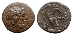 Ancient Coins - Ptolemaic Kings of Egypt, Ptolemy II Philadelphos (285-246 BC). Æ Dichalkon