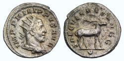 """Ancient Coins - Philip I. AD 244-249. AR Antoninianus. Ludi Saeculares issue. """" Secular Games """""""