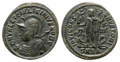 Ancient Coins - Licinius II (Caesar, 317-324). Æ Follis - Heraclea - R/ Jupiter