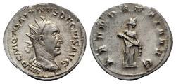 Ancient Coins - Trajan Decius (249-251). AR Antoninianus. Rome, AD 250.