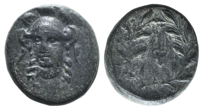 Ancient Coins - Phokis, Federal Coinage, c. 351 BC and later. AE 14mm