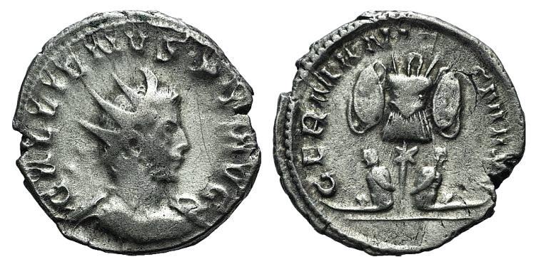 Ancient Coins - GALLIENUS. 253-268 AD. AR Antoninianus. Cologne mint. Struck 257/8 AD.