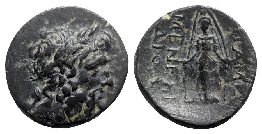 Ancient Coins - Phrygia, Apameia, c. 88-40 BC. Æ - Menek–, son of Diod–, eglogistes
