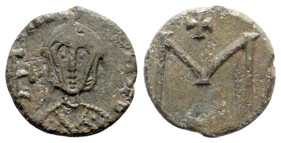 Ancient Coins - Michael III (842-867). Æ 40 Nummi - Syracuse