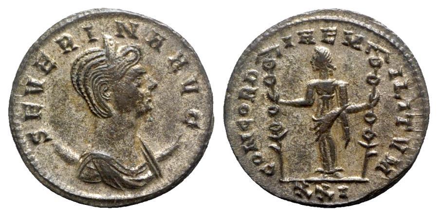Ancient Coins - Severina (Augusta, 270-275). Antoninianus - Siscia - R/ Fides