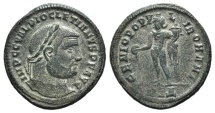 Ancient Coins - Diocletian (284-305). Æ Follis