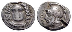 Ancient Coins - Cilicia, Tarsos. Tarkumuwa (Datames, Satrap of Cilicia and Cappadocia, 384-361/0 BC). AR Stater