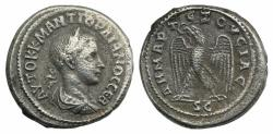 Ancient Coins - Gordian III (238-244). Seleucis and Pieria, Antioch. AR Tetradrachm, AD 238-240.