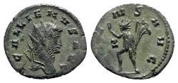 Ancient Coins - Gallienus (253-268). AR Antoninianus - Rome - R/ Sol