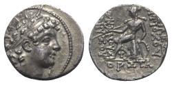 Ancient Coins - Seleukid Kings, Antiochos VI Dionysos (144-142 BC). AR Drachm
