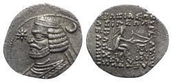 Ancient Coins - Kings of Parthia, Orodes II (c. 57-38 BC). AR Drachm - Mithradatkart