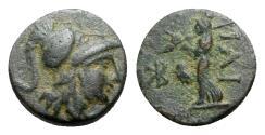 Ancient Coins - Troas, Ilion, c. 159-119 BC. Æ