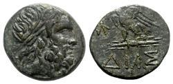 Ancient Coins - Bithynia, Dia, c. 85-65 BC. Æ. Zeus - Eagle.
