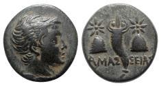 Ancient Coins - Pontos, Amaseia, c. 120-100 BC. Æ - Perseus / Cornucopia