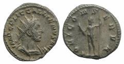 Ancient Coins - Gallienus. AD 253-268. AR Antoninianus. Rome mint. 1st emission, AD 253-254. / JUPITER