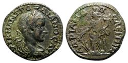 Ancient Coins - Gordian III (238-244). Thrace, Hadrianopolis. Æ - R/ Tyche