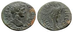 Ancient Coins - Caracalla ? (198-217). Pisidia, Antioch. Æ - R/ Tyche