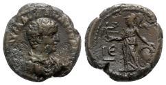 Ancient Coins - Severus Alexander (Caesar, AD 222). Egypt, Alexandria. BI Tetradrachm - year 5 - R/ Athena Nikephorus