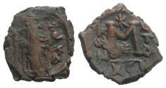 Ancient Coins - Constans II (641-668). Æ 40 Nummi