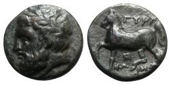 Ancient Coins - Thessaly, Gyrton, c. 350-300 BC. Æ