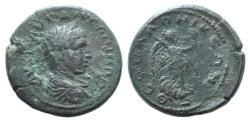 Ancient Coins - Caracalla (198-217). Macedon, Thessalonica. Æ 28mm.  R/ Nike