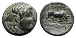 Ancient Coins - Seleukid Kings, Seleukos I Nikator (312-281 BC). Æ