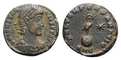 Ancient Coins - Constantius II (337-361). Æ Follis - Antioch