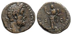 Ancient Coins - Commodus (177-192). Æ Sestertius - Rome - R/ Liberalitas