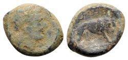 Ancient Coins - Anonymous, Southern Italy, c. 260 BC. Æ