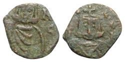 Ancient Coins - Leo V and Constantine (813-820). Æ 40 Nummi - Syracuse