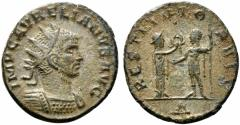 Ancient Coins - Aurelian (270-275). Radiate. Cyzicus, 272-4.