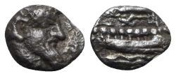 Ancient Coins - Phoenicia, Arados. Uncertain king, c. 380-351/0 BC. AR Obol