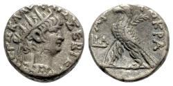 Ancient Coins - Nero (54-68). Egypt, Alexandria. BI Tetradrachm - R/ Eagle