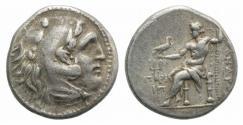 Ancient Coins - IONIA, Priene. Circa 280-275 BC. AR Drachm VERY RARE