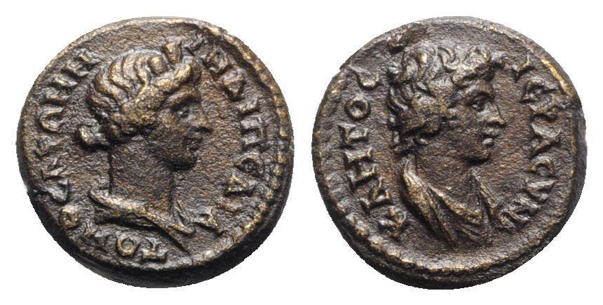 Ancient Coins - Lydia, Stratonicea Hadrianopolis. Pseudo-autonomous, time of Trajan (98-117). Æ - VERY RARE