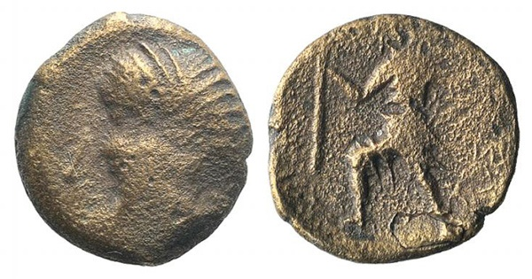 Ancient Coins - Kings of Illyria, Ballaios (c. 190-175 BC). AE 15mm