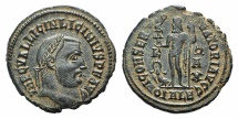 Ancient Coins - Licinius I. AD 308-324. Æ Follis. Alexandria mint, 1st officina. Struck AD 316-317. EXTREMELY FINE