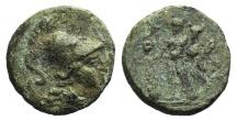Southern Apulia, Uxentum, c. 150-125 BC. Æ 13mm